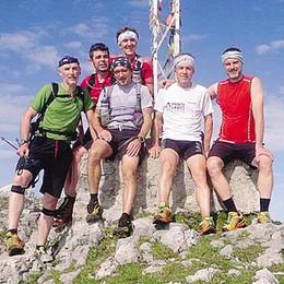 Dal Monte Bianco al Cervino  Di corsa per aiutare Dario