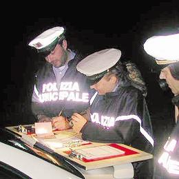 Lomazzo, pattuglie notturne  contro alcol e velocità
