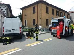 COMO - Incidente in via Varesina