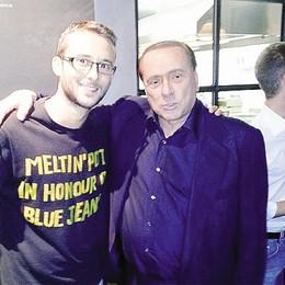 «Una  cena   indimenticabile»   Con Berlusconi vicino di tavolo