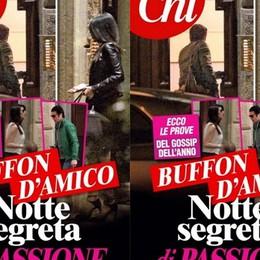 Ilaria D'Amico e l'amore Buffon:  «Vita con pieghe che non t'aspetti»