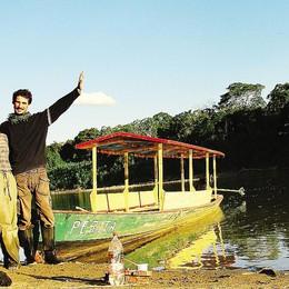 Da Olgiate fino in Perù  «Così difendo l'Amazzonia»