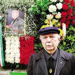 Como, addio a Nicollini  101 anni in camicia nera