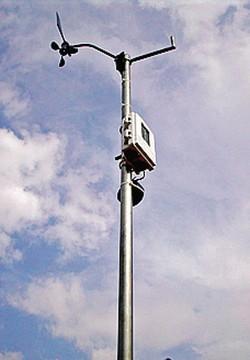 La stazione meteo di Frigerio, realizzata dieci anni fa a Casletto