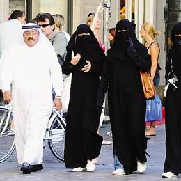 Ma c'è  chi gradisce la pioggia   «I turisti arabi ne vanno matti»