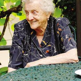 Maria, la busecca e Bud Spencer per festeggiare i suoi 100 anni