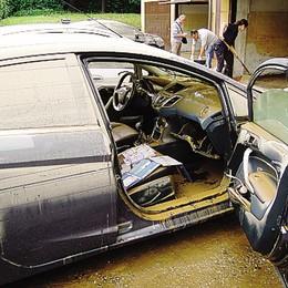 Carugo, troppa pioggia  Rimandate le asfaltature