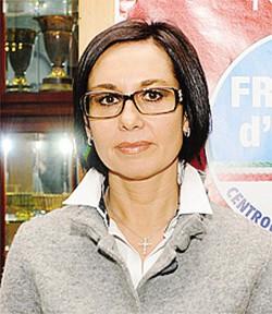 Il sindaco Monica Luraschi