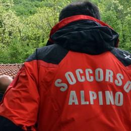 Cinque turisti dispersi  Sui monti sopra Porlezza