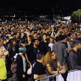 Musica in piazza Cavour  «Decibel bassi, non era rock»