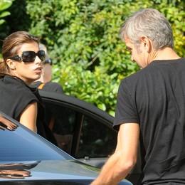 """Canalis sposa a settembre  """"Sfida di nozze"""" a George"""