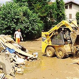 Opere anti alluvioni e danni  Mariano e Carugo in Regione