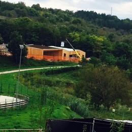 Abruzzo, i lavori al centro  regalato dai nostri lettori   Inaugurazione entro Natale