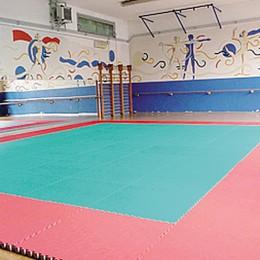 Fino, palestra rimessa nuovo  dagli atleti del judo