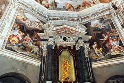 Como basilica di San Fedele presentazione del restauro degli affreschi della Cappella della Beata Vergine Purificata