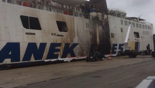 Incendio su altro traghetto 'Anek Lines'