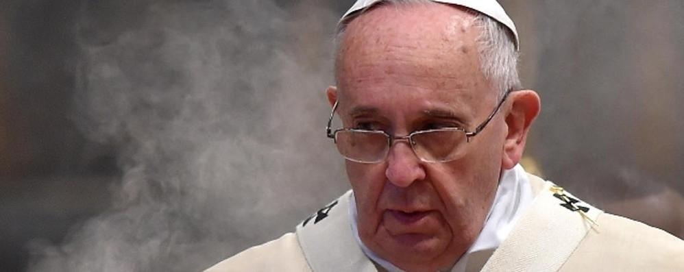 Il Papa risponde al frontaliere  «Devi avere fiducia nel Signore»