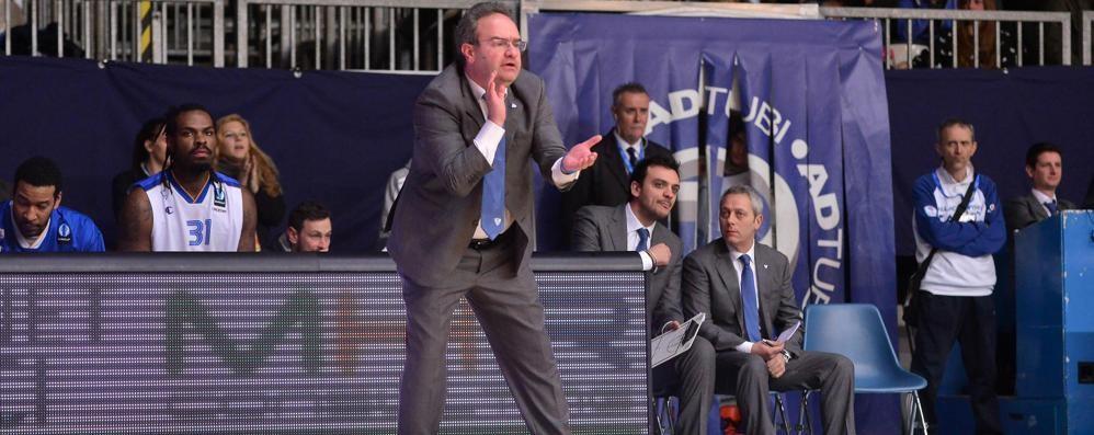 Cantù, domani arriva a Roma Sacripanti: «Squadra ostica»