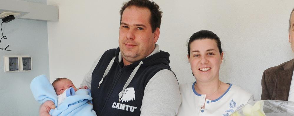 Como: Alessandro il primo nato, poi Anita Il 2014 saluta con Sebastiano