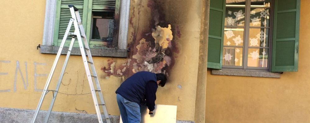 Olgiate, vandali a scuola Il sindaco: «Ragazzi, parlate»