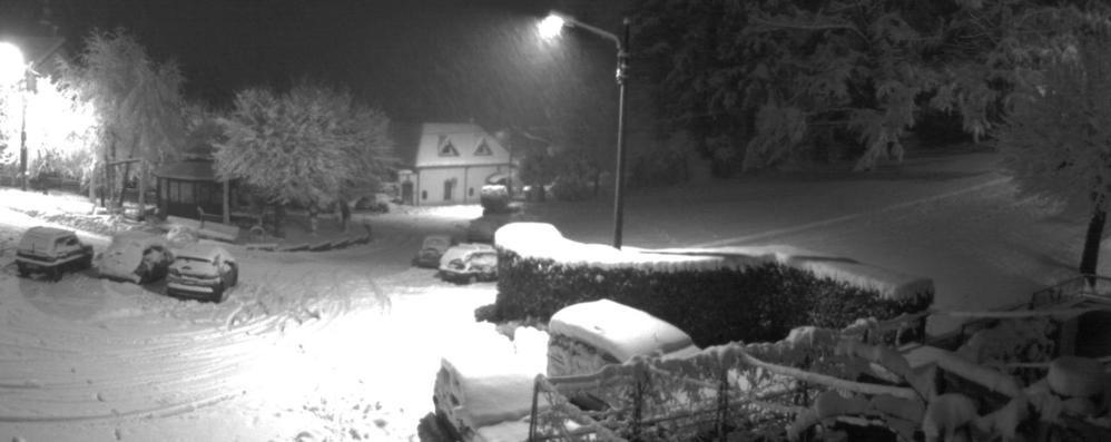 E' arrivato l'inverno  Primi fiocchi di neve