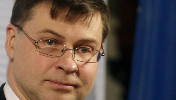 Dombrovskis,limitata flessibilità Italia