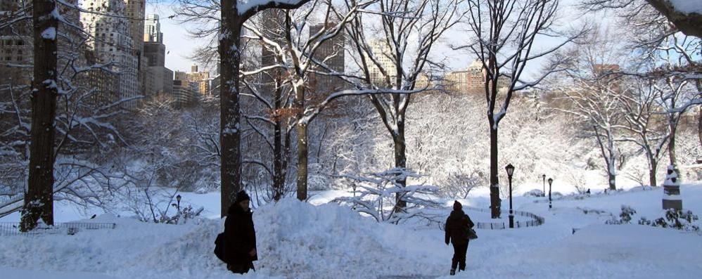 New York dichiara il «coprifuoco»  Tempesta di neve ferma La Grande Mela