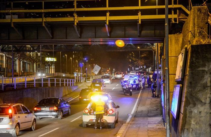 COMO - Incidente in via Castelnuovo