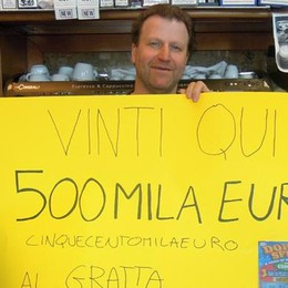 Vince mezzo milione con 5 euro  Il Superenalotto premia Alzate