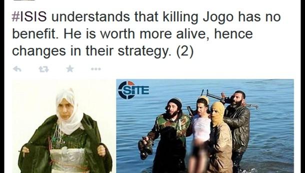 Isis, imminente esecuzione pilota