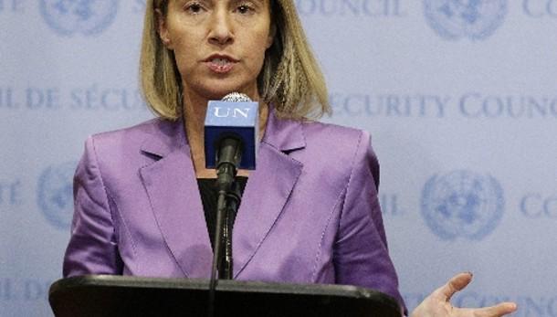 Siria: Mogherini, obiettivo lotta a Isis