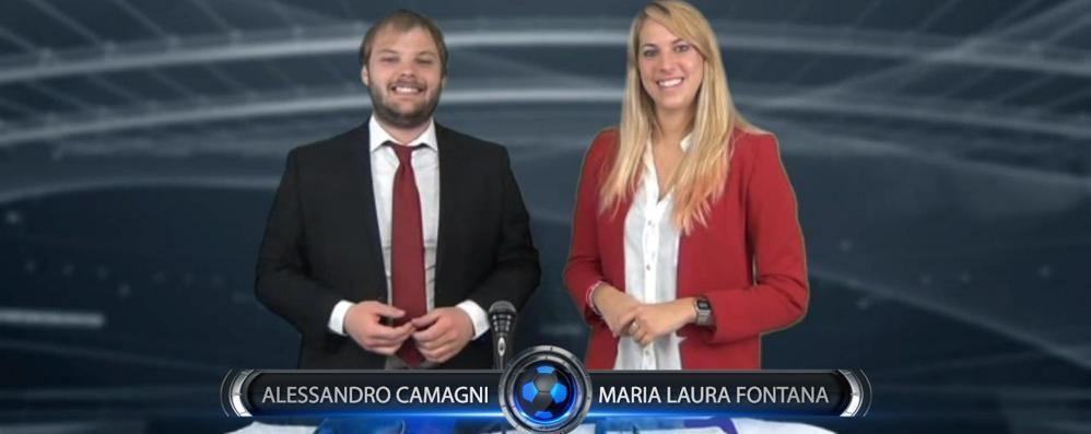 Dilettanti, gol fantasma  del Cadorago  ripreso dalla Domenica sportiva Lariana