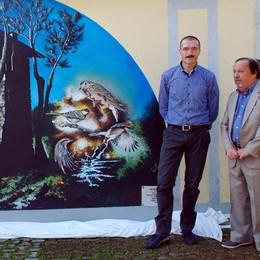 Ecco il murales di Gaffuri  Festa a Capiago