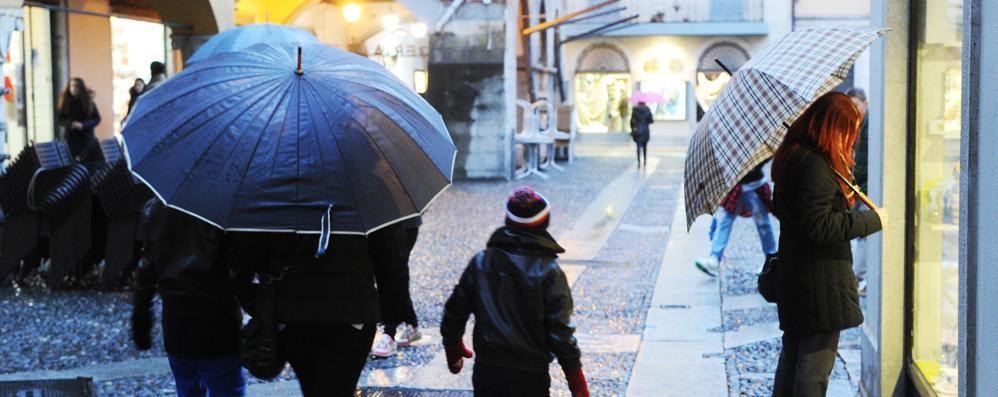Pioggia e incidenti  Maltempo fino a domenica