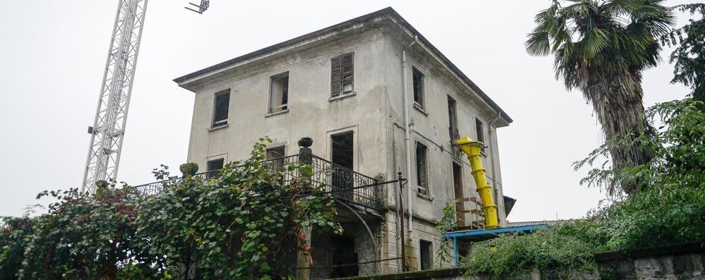 Villa Ottolenghi, il sì al restauro  Ci abiterà una stella del pallone
