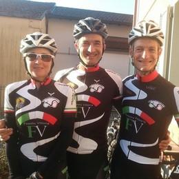 Da Olgiate fino al Brasile  In sella alla mountain bike