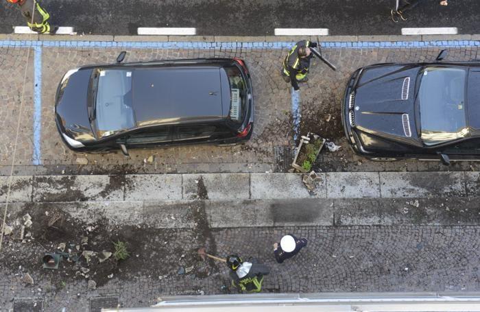 Como incidente via Milano