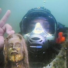 Viaggio nei fondali del lago  Immersione  in diretta: il video
