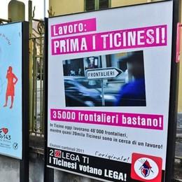 «Disoccupazione in Svizzera, i frontalieri non c'entrano»
