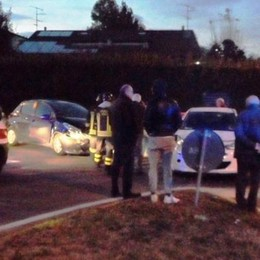 Incidente stradale  a Gironico