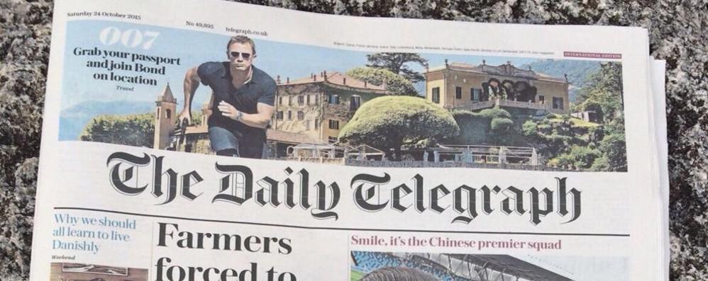 Agente 007, per il Telegraph nessuna location è più bella del Balbianello