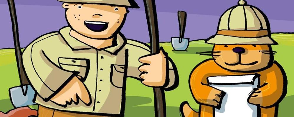 In tenda nei boschi con il papà  scopre 80 fibule di 2600 anni fa