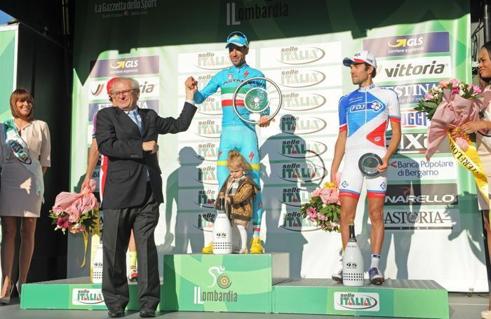 Como ciclismo Giro di Lombardia 2015 vinto da Vincenzo Nibali