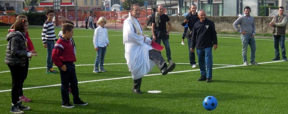 Inaugurato il centro sportivo  Cermenate ringrazia il Rotary