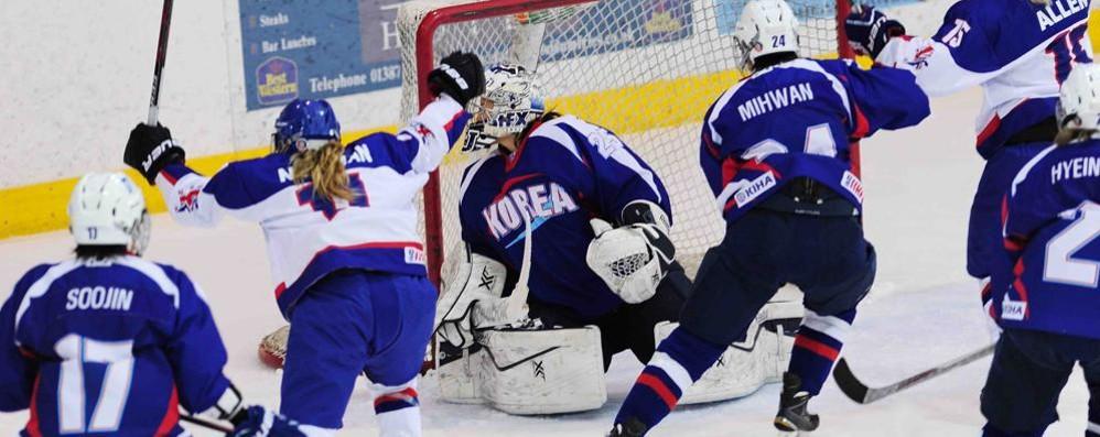 Grande colpo Hockey Como Arriva la Nazionale coreana