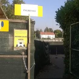 «La sicurezza è garantita»  Mariano-Varese si giocherà