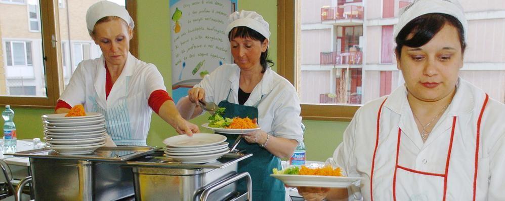 Questione di pancia  sul pasto dei figli