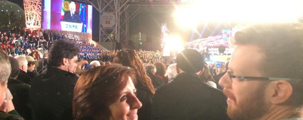 Expo, la festa  vissuta da Como