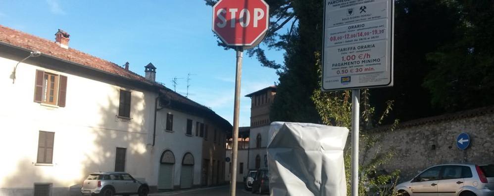 Per gestire la sosta a Olgiate  Anche dalla Puglia le proposte