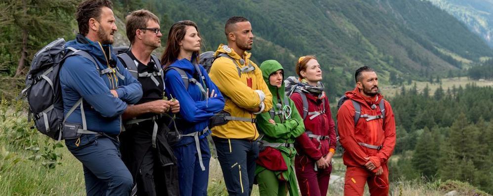 Monte Bianco, non decolla  il reality con Zambrotta